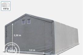 Raktársátor Professional Prime Plus (lángálló) 5 x 12 x 3 m