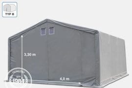 Raktársátor Professional Prime Plus (lángálló) 6 x 6 x 3 m